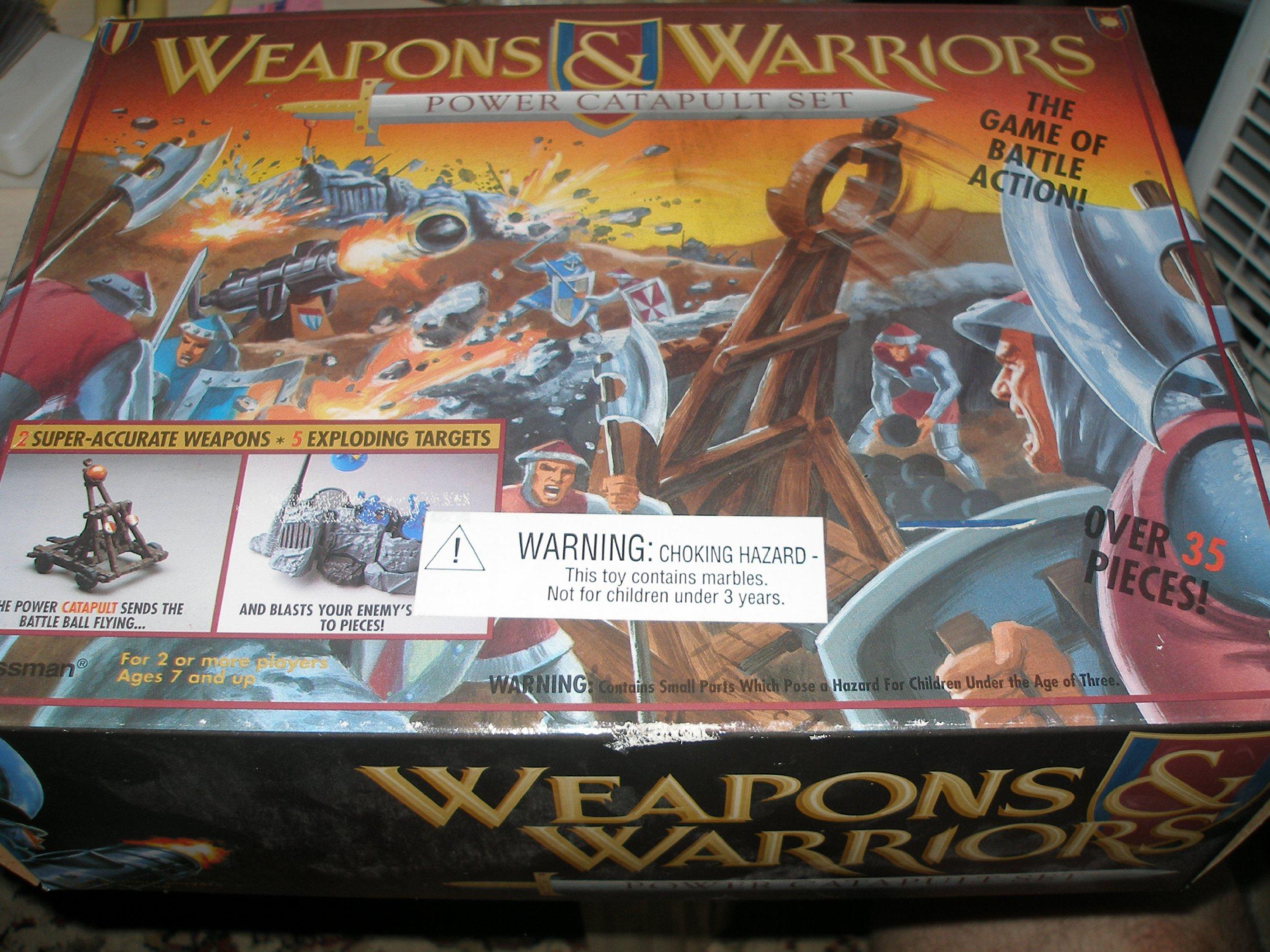 Weapons & Warriors Power Catapult Set