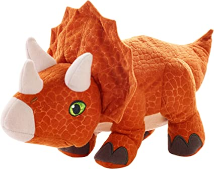 Aurora Monkey Stuffed Animal, Amazon Com Jurassic World Dinosaurprise Triceratops Toys Games