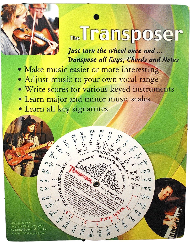Herramienta de transmisión de música para notas, acordes y firma ...