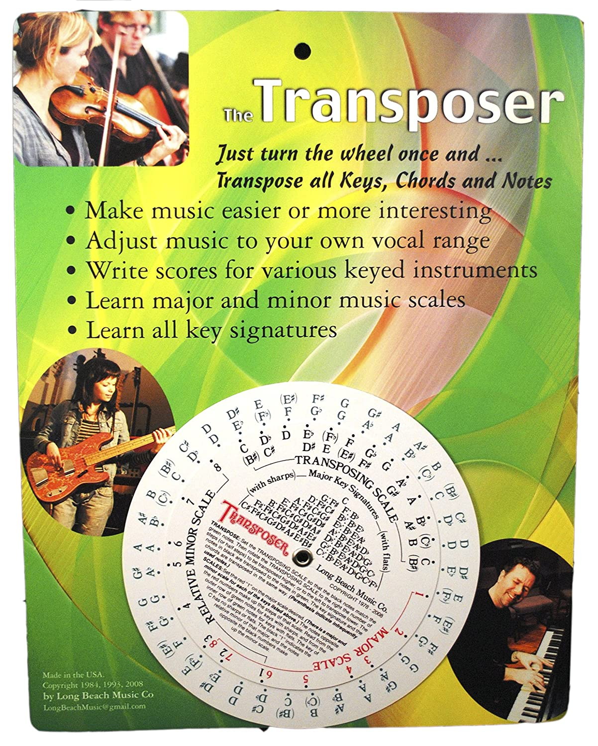 Amazon music transpose tool for notes chords and key amazon music transpose tool for notes chords and key signature musical instruments hexwebz Gallery