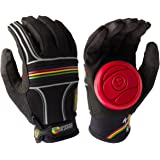 Sector 9 BHNC Adult Slide Skateboard Gloves - Rasta