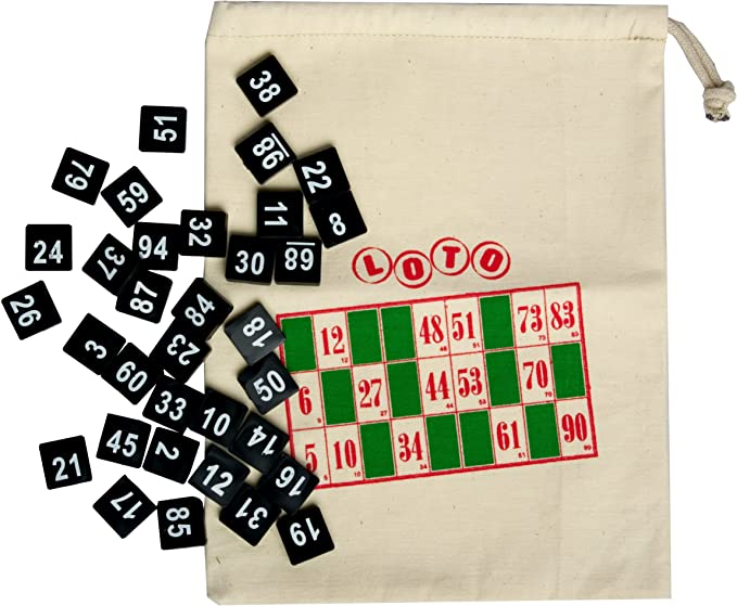 Bingo House Sachet avec nombre de 1 à 100 pour tirage au sort: Amazon.es: Electrónica
