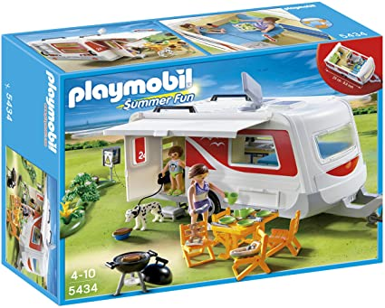 Amazon.com: Playmobil Familia Caravana: Toys & Games