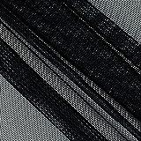 Ben Textiles Inc. Power Mesh Black Fabric By The Yard