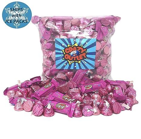 Surtido de chocolates de ducha para bebé, color rosa ...