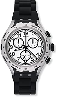 Swatch YYS4020AG Irony Xlite Black Attack Mens Watch