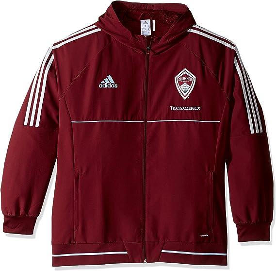 adidas MLS Mens Authentic Travel Jacket