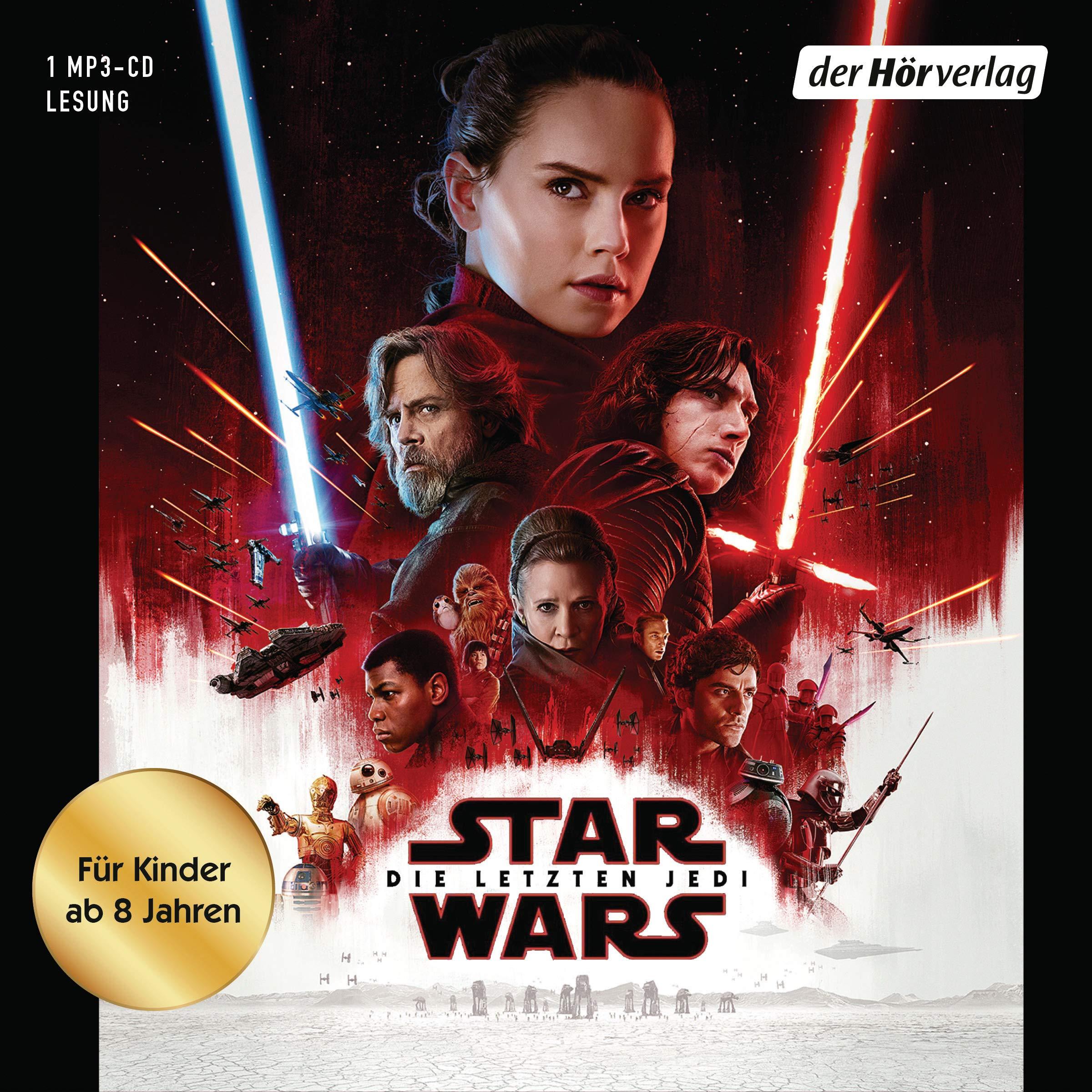 Star Wars: Die letzten Jedi: (Episode VIII) Hörkassette – Gekürzte Ausgabe, Audiobook, MP3 Audio Michael Kogge Alexander Doering Andreas Kasprzak der Hörverlag