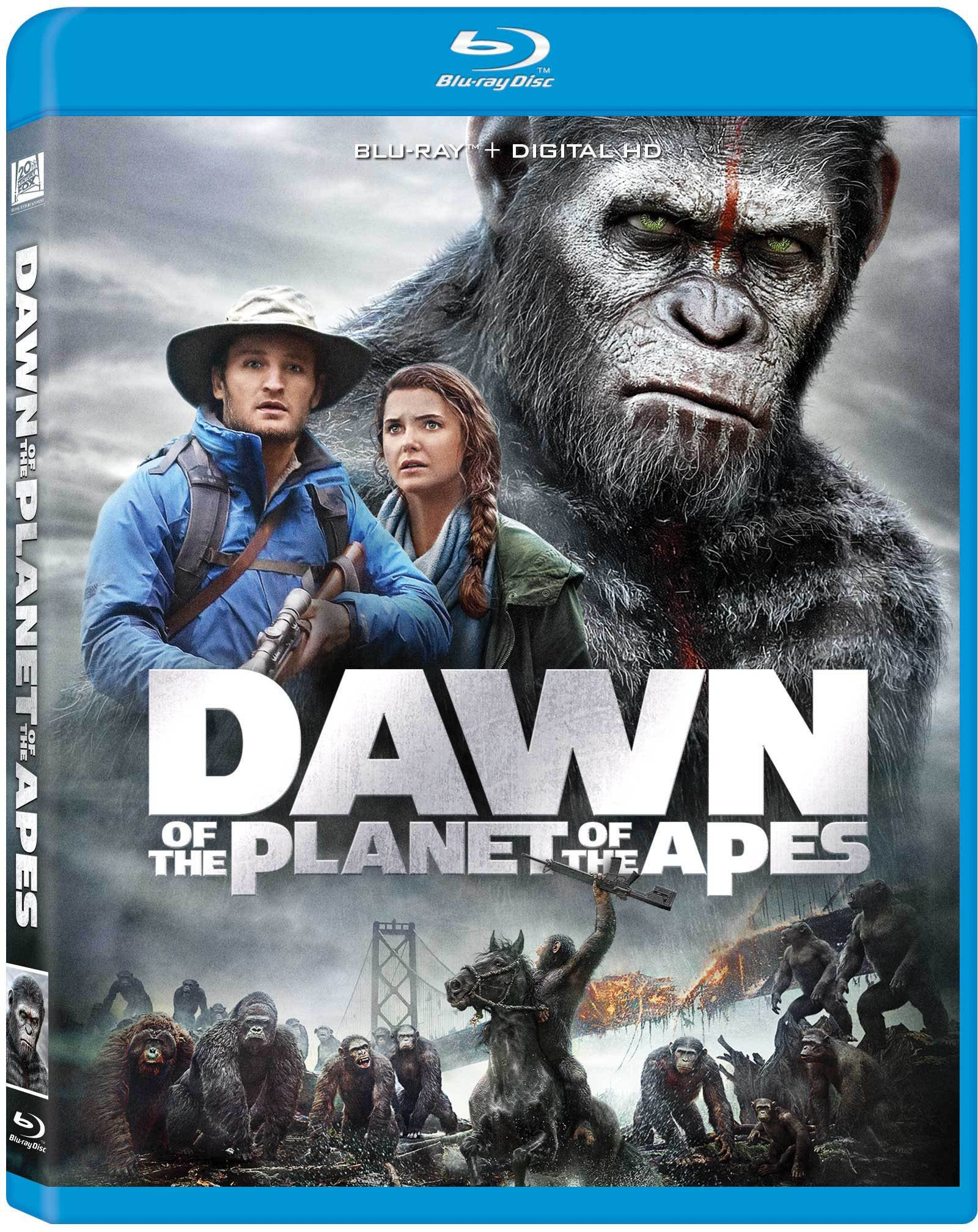 Blu-ray : Dawn of the Planet of the Apes (Digitally Mastered in HD, Repackaged, Pan & Scan)