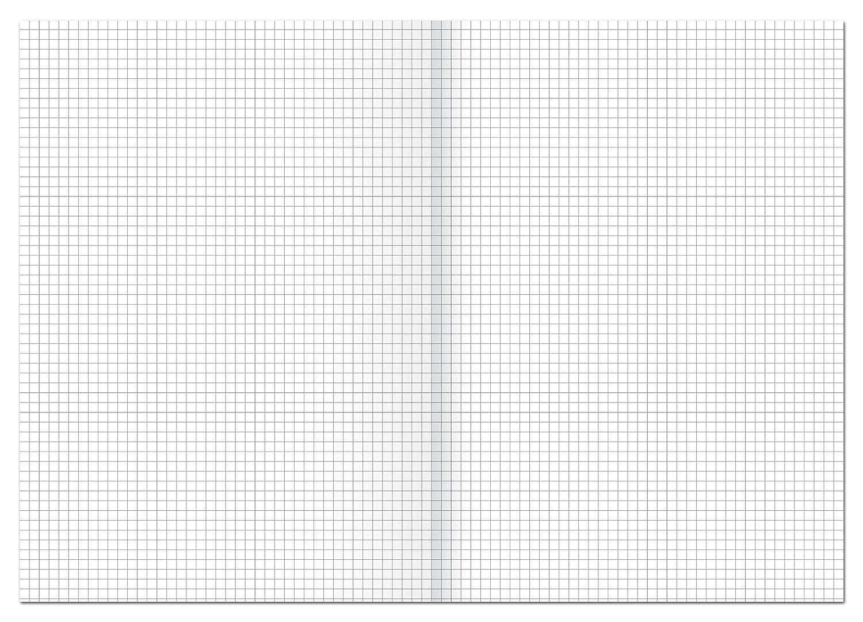 80 g Ursus Carta da protocollo a quadretti formato A3 e A4 250 Bg