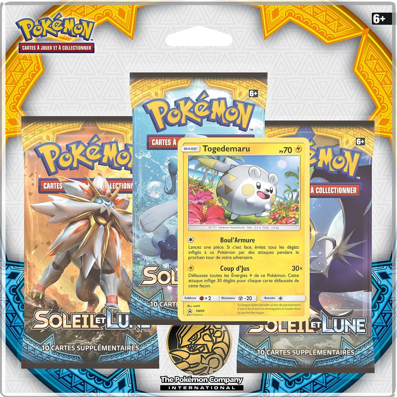 Asmodée - POSoleil et Lune 102 - Booster Pokémon Soleil et Lune 1 (Version Française) - Modèle aléatoire ASMODEE POSL102