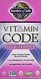 Garden of Life Vitamin Code 50 & Wiser Women 120 vcaps
