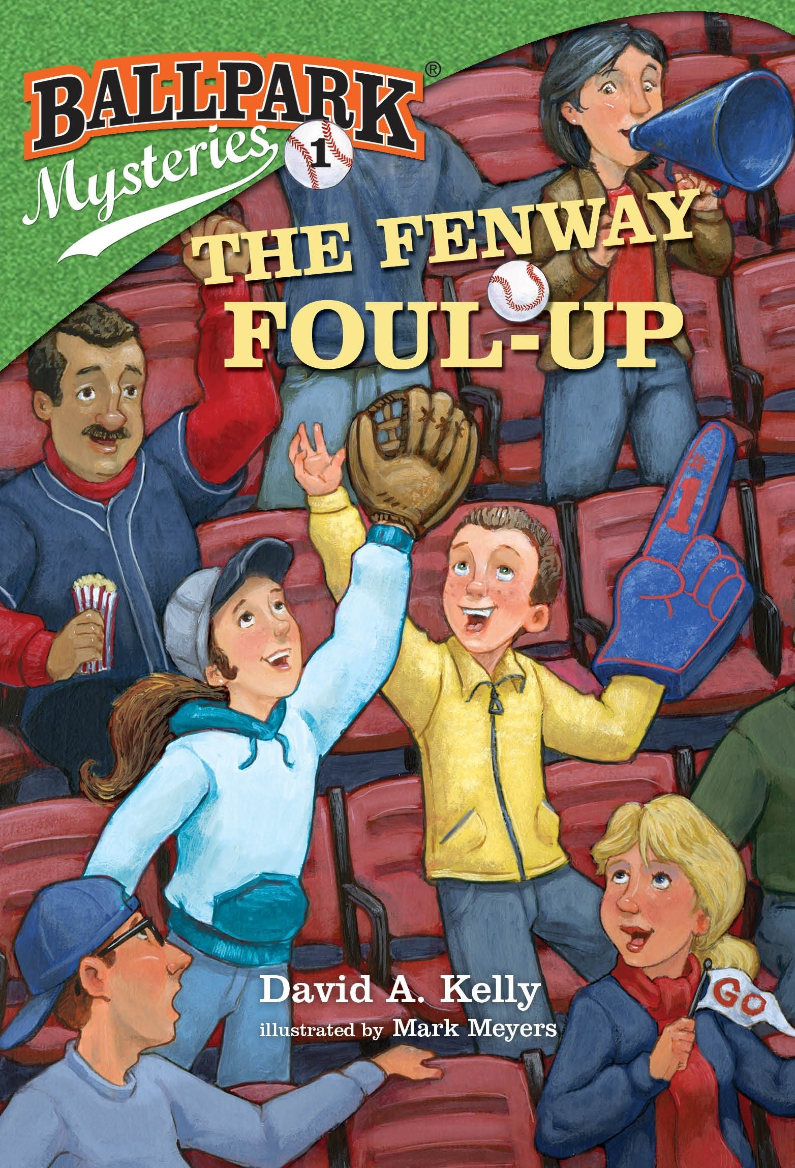 Ballpark Mysteries #1: The Fenway Foul-up pdf