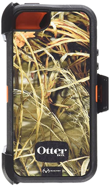 the best attitude 15874 77ae0 OtterBox Defender Series Case for iPhone 5/5s (Not Compatible with Touch  ID) Realtree Camo - Max 4HD Orange