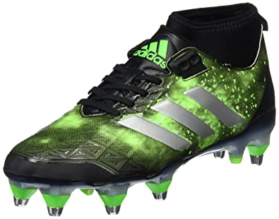 sports shoes 9f1e0 e7c06 adidas Kakari Force SG, Chaussures de Rugby Homme, Noir Negbas Plamet Versol
