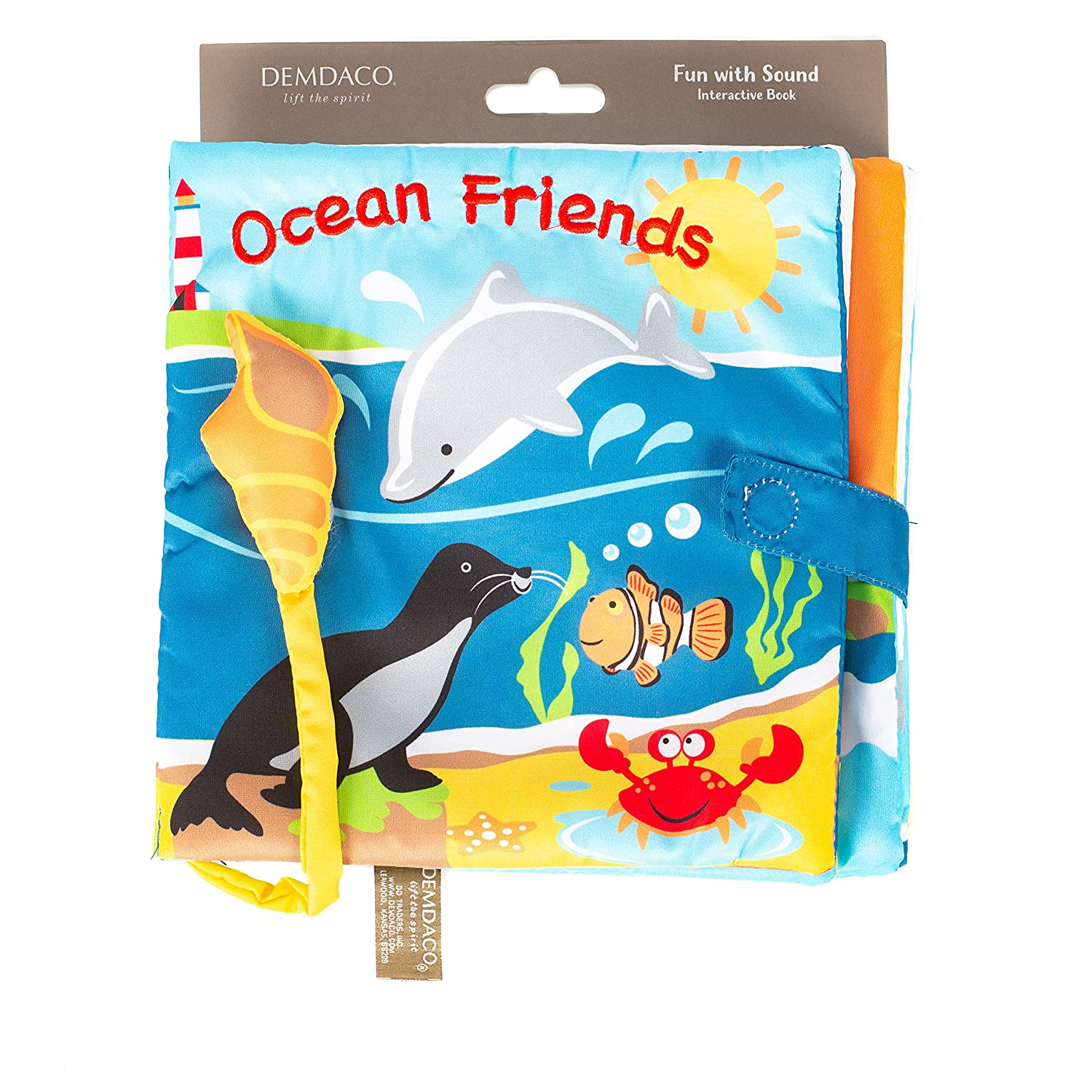 book jigsaw and wooden toys Ocean Friends