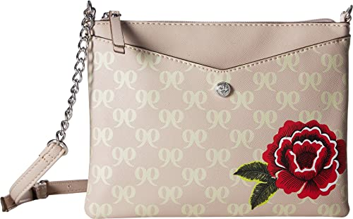 5d9cb67d2ab6 Nine West Women s Full of Sparkle Crossbody Cashmere Platino One Size   Handbags  Amazon.com