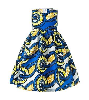 689b36cf6f5d3 African Print Baby Dress, Ankara Baby Dress, African Baby Clothes, African  Children Dress