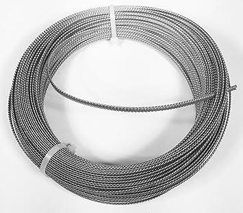 Eloja® Spiralfedern Korsett Stäbe Federstahldraht verzinkt, 5 mm ...