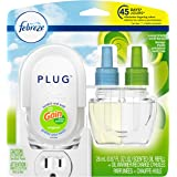 Febreze Plug in Air Freshener and Odor Eliminator, Scented Oil Refill and Oil Warmer, Gain Original Scent, 1 Count