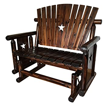 Leigh Country TX 94064 Double Glider Bench