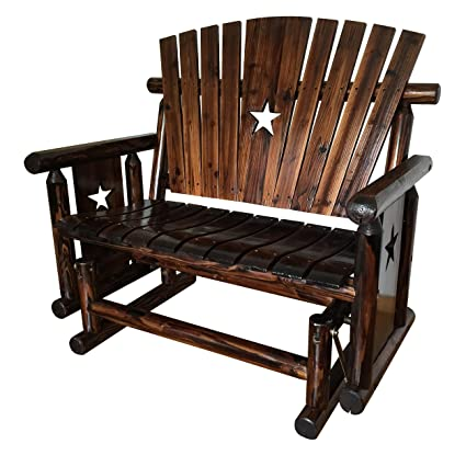 Pleasant Leigh Country Tx 94064 Double Glider Bench Creativecarmelina Interior Chair Design Creativecarmelinacom