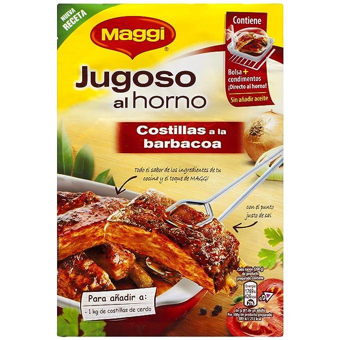 Maggi - Jugoso al Horno a La Barbacoa - 30 g - [Pack de 8]: Amazon ...