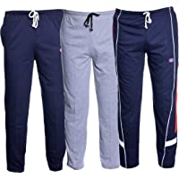 VIMAL JONNEY Men's Cotton Trackpants (Pack of 3)-D1ND1MD7N-P