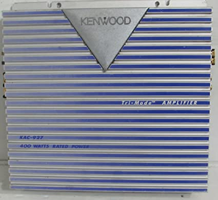 Old School Kenwood KAC-927 2-Channel Power Amplifier