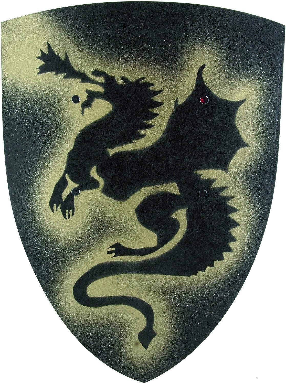 Ritter Cartel Dragón grande negro VAh 102Encorvada