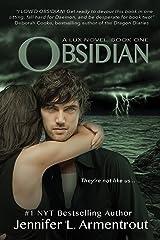Obsidian (A Lux Novel Book 1) Kindle Edition