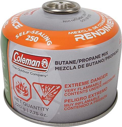 Coleman Butane Propane Mix Fuel Mix Fuel 7.75 oz. – 7.75 oz.