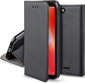 Moozy Funda para Xiaomi Redmi 6A, Negra: Amazon.es: Electrónica