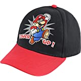 Nintendo Super Mario Kids Baseball Hat, Little Boys Cap, Age 4-7