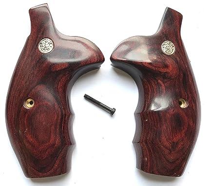 Amazon.com : Gun Grip Supply Smith & Wesson S&W N Frame Grips. Round ...
