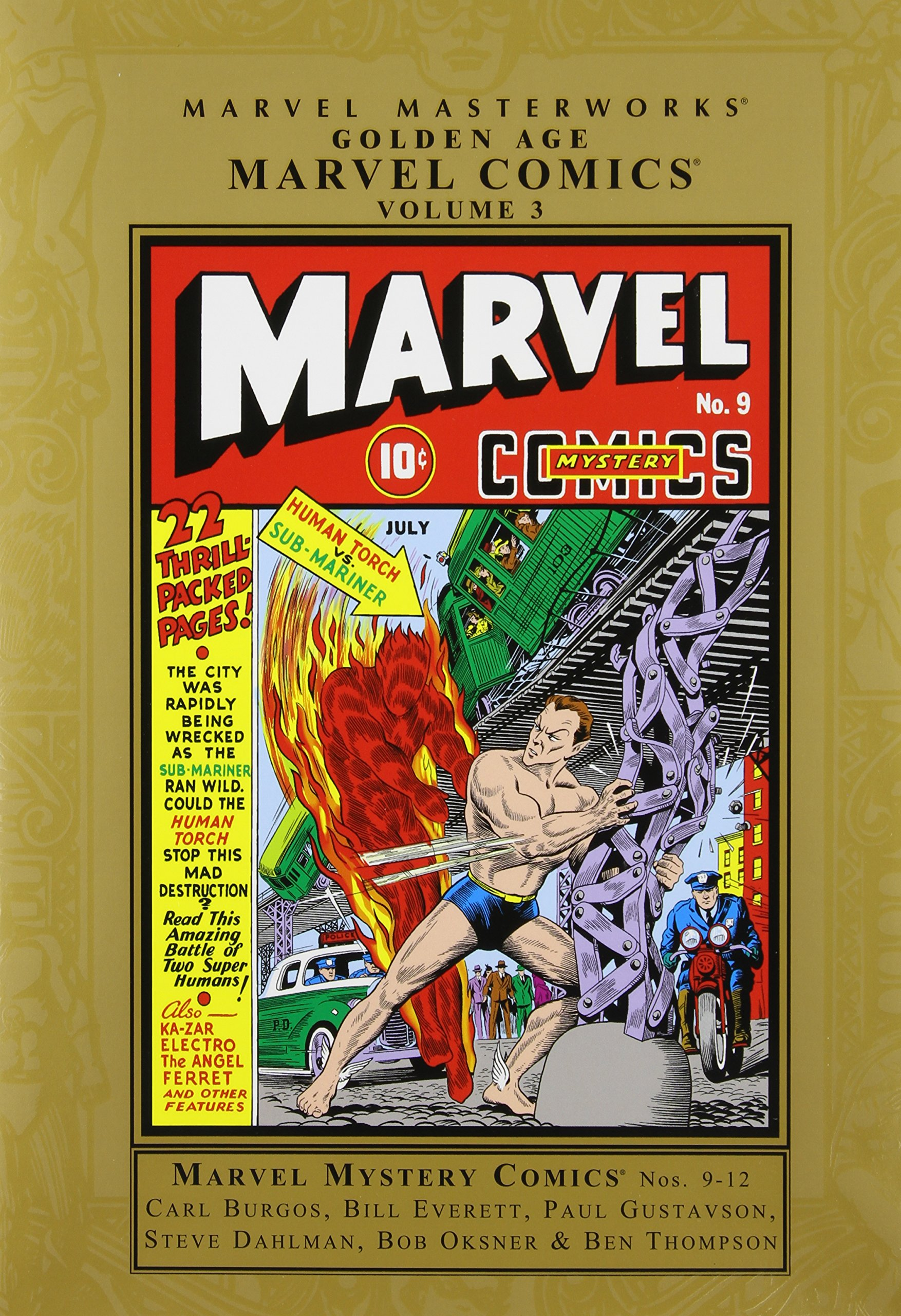Marvel Masterworks: Golden Age Marvel Comics, Vol. 3 ebook