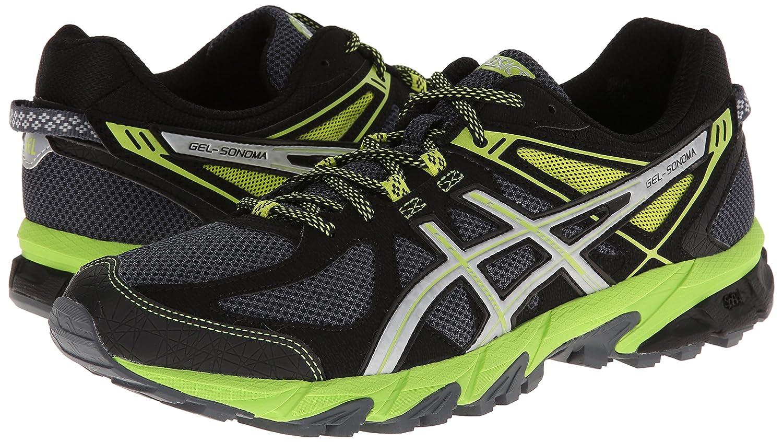 Asics - Herren-Gel-Sonoma Schuhe, EUR  39, Graphite Graphite Graphite Silber Lime cf01c5