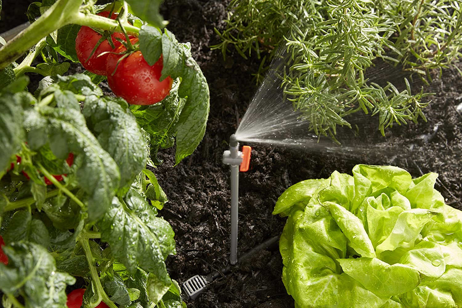 Scotts All-in-One Garden Watering Kit Reduces Water Waste Flexible Tubing /& Quick Connect Technology Makes Watering Easier /& More Versatile Easy Set Up for Season Long Precision Watering