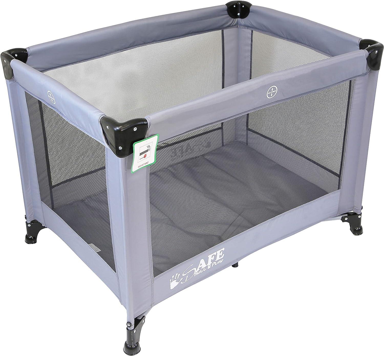 Purple 120 cm x 60 cm iSafe Rest /& Play Luxury Baby Travel Cot Playpen