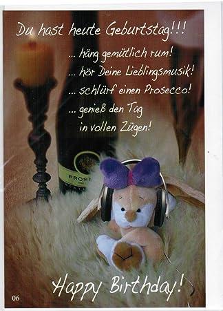 Geburtstagskarte Klappkarte Mit Briefumschlag Stoppel Ca 11 5 X