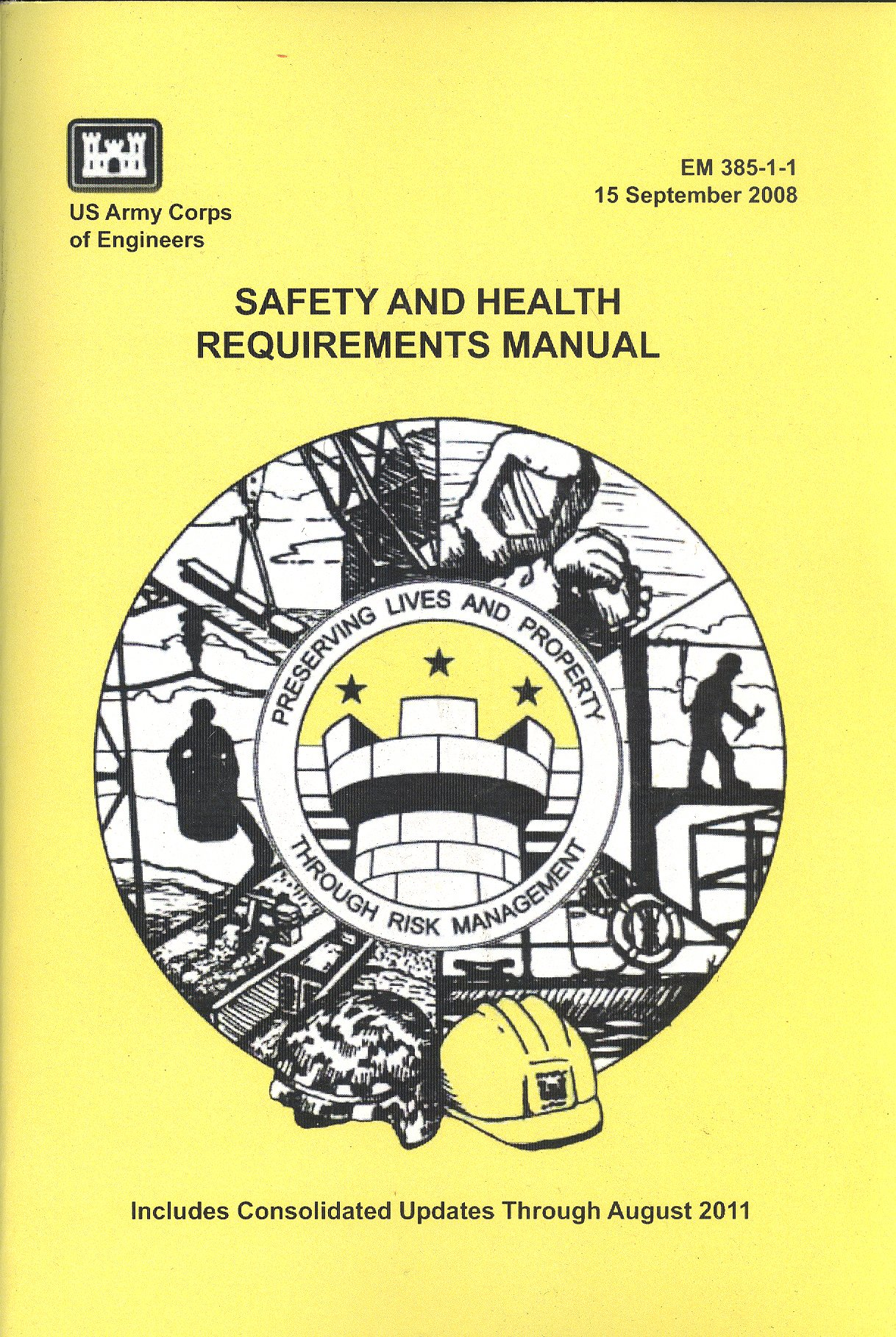 safety and health requirements em385 1 1 us army corps of rh amazon com em 385 1 1 manual download em 385-1-1 safety and health requirements manual
