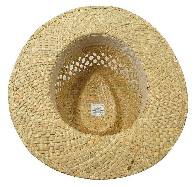Wegener Men s Fedora Hat Beige Natural - Beige - Medium  Amazon.co.uk   Clothing 48663763584