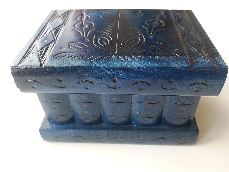 Nueva océano azul hermosa caja mágica, misteriosa caja, caja de ...