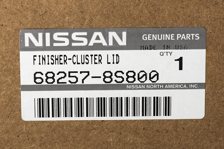 Amazon.com: 2004-2006 Nissan Titan SE XE & 2004-2006 Nissan Armada SE Instrument Panel Lid Finisher Bezel Replacement GENUINE OEM NEW: Automotive