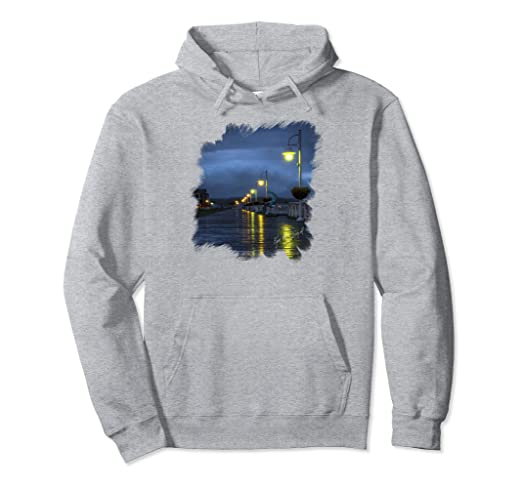 Blue Hour Boardwalk Pullover Hoodie