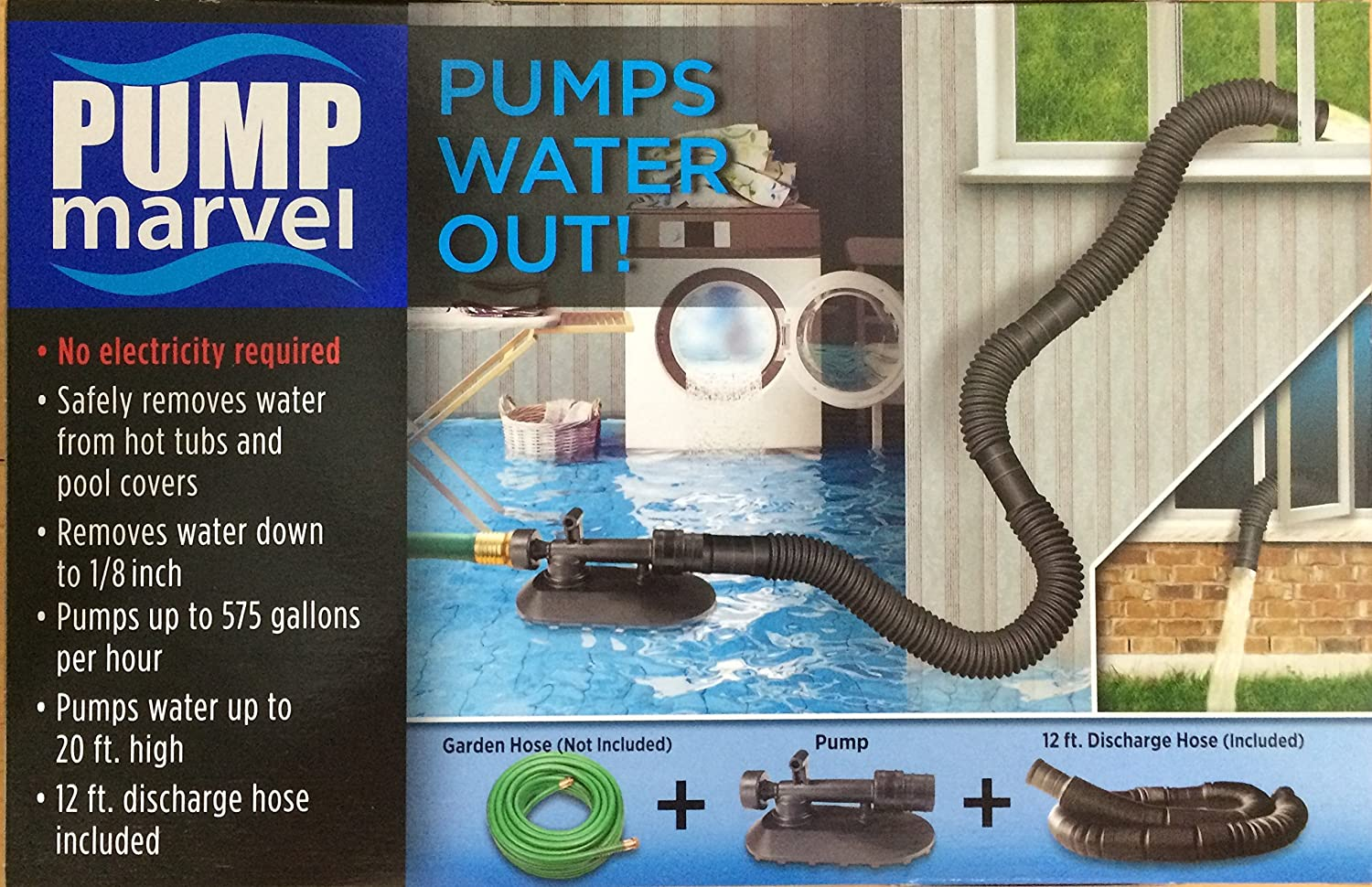 Water Pressure, The Venturi Effect And Vacuum Pump Marvel For Uses Pressure From A Garden Hose