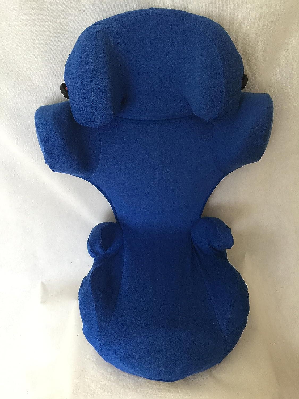 Sommerbezug Schonbezug Frottee für Kiddy Cruiserfix 3 Frottee 100% Baumwolle blau EKO