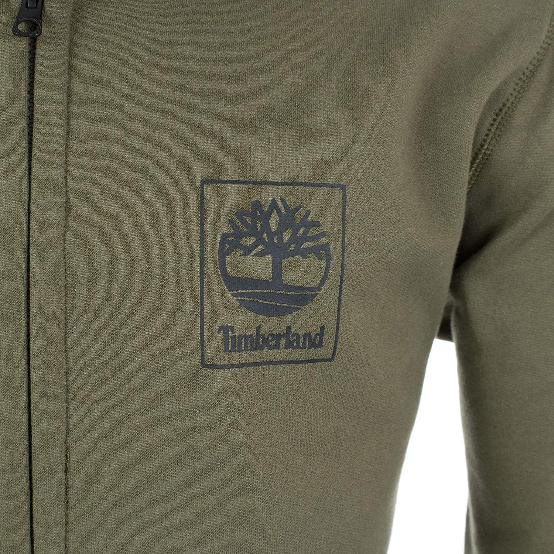 0ff075672 Timberland Full Zip Back Logo Hoodie: Amazon.co.uk: Clothing
