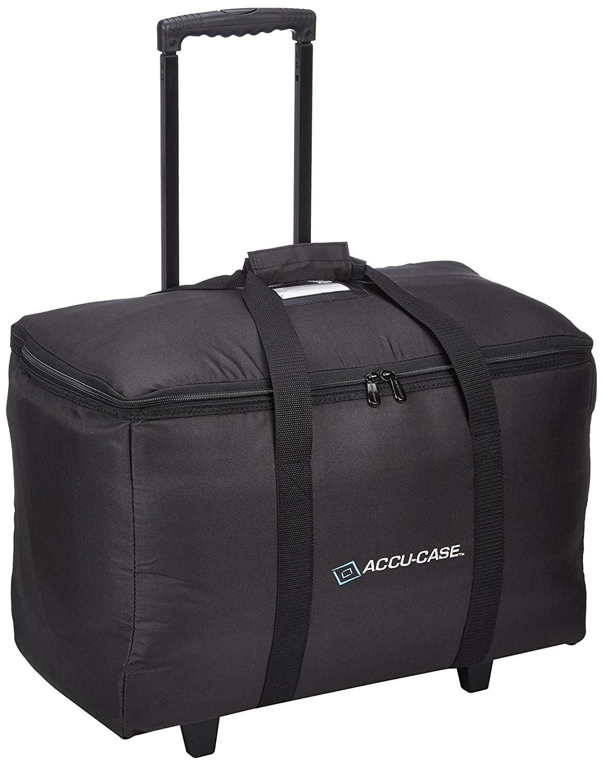 Arriba Padded Multi Purpose Case Acr-16 Bottom Stackable Rolling Case Dims 16X10X14 Inches