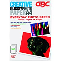 GBC Paper Photo A4 Everyday High Gloss 160gsm (Pack of 100)